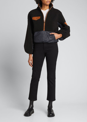 Frame Fleece Mix Half-Zip Pullover