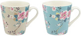 Cath Kidston Trailing Rose Set of 2 Mini Stanley Mugs