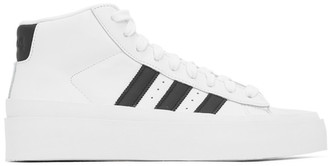 424 White adidas Originals Edition Pro Model 80s High-Top Sneakers