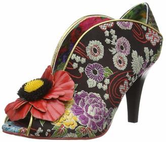 Irregular Choice Women's Rita Primrose Closed Toe Heels