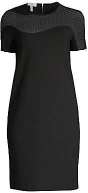 Escada Sport Women's Illusion Polka Dot Shift Dress