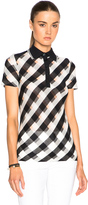 Stella McCartney Transparent Check Top