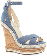 Jessica Simpson Ahnika Ankle-Strap Wedge Sandals