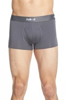 Naked Men's Essential 2-Pack Stretch Cotton Trunks