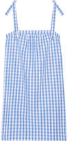 Three J NYC Stella Gingham Cotton-poplin Nightdress - Blue