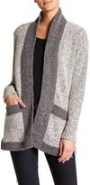 Blanc Noir Tweed Car Coat