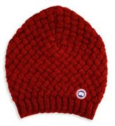 Canada Goose Basket Weave Slouchy Beanie Hat