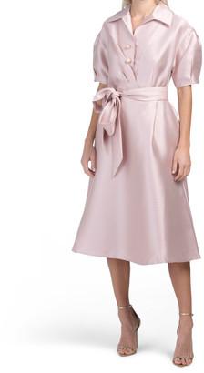 Mecato Pique Shirt Dress
