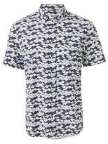 Jeanswest Tatum Short Sleeve Print Shirt-Ink Multi-S
