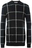 McQ by Alexander McQueen checked jumper