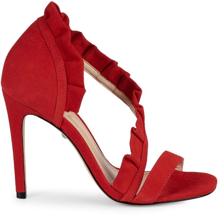 4d9e14db955 Aime Suede High-Heel Sandals