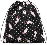 Miu Miu cat print mini backpack