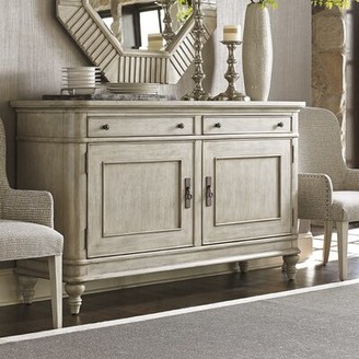 """Lexington Oyster Bay 72"""" Wide 2 Drawer Buffet Table"""