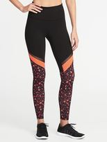 Old Navy High-Rise Mixed-Print Compression Leggings for Women