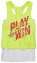 JCPenney Xersion Layered Crop Top - Girls 7-16 and Plus
