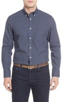 Nordstrom Smartcare TM Micro Check Sport Shirt (Big)