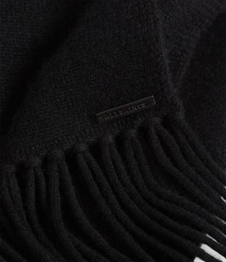 AllSaints Boiled Wool Scarf