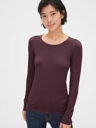 Gap Featherweight Long Sleeve Crewneck T-Shirt