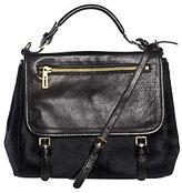As Is Isaac Mizrahi Live! New York Pony Hair Calf Handbag