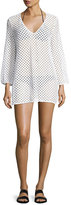 Milly Mykonos Mesh Netting Coverup Tunic
