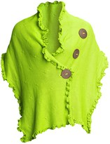 Pure Handknit Cotton Wrap - Love Me, Love Me Not (For Women)