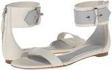 Alexander McQueen Ankle Strap Flat Sandal