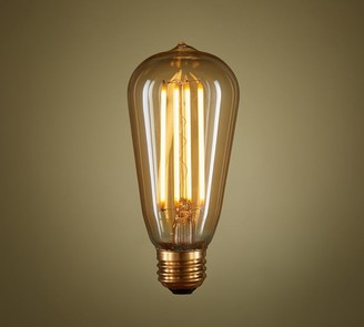 Pottery Barn LED Teardrop Filament 40W Equivalent Light Bulb