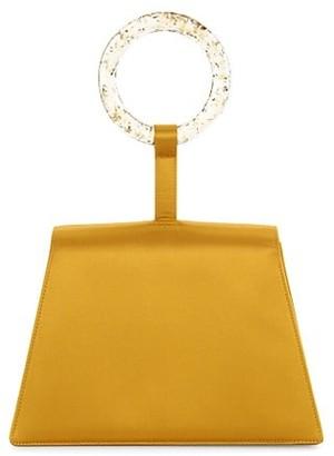 Carolina Santo Domingo Paloma Satin Bracelet Bag