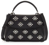 MICHAEL Michael Kors Ava Small Jeweled Satchel Bag
