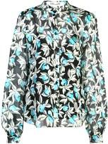 Diane von Furstenberg floral-print shirt