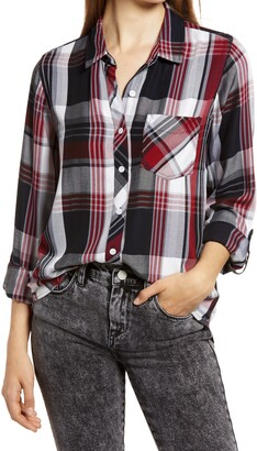 Thread & Supply Ramy Plaid Button-Up Shirt