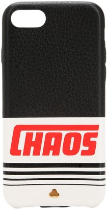 Chaos Reflective Leather Iphone 7/8 Cover