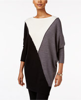 Style&Co. Style & Co. Colorblocked Tunic Sweater, Only at Macy's