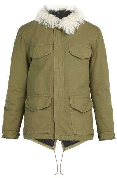Mr & Mrs Italy M65 Rainproof Cotton Jacket - Mens - Green