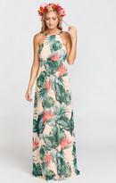 MUMU Amanda Maxi Dress ~ Kauai Kisses