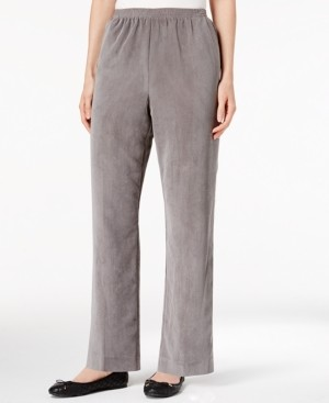 Alfred Dunner Classics Pull-On Corduroy Pants