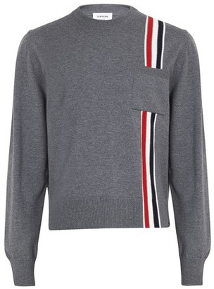 Thom Browne Jumper with three-color stripes
