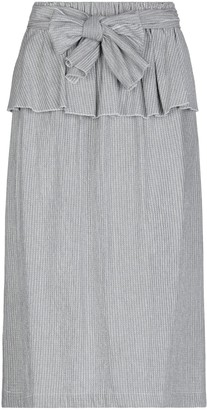 The M.. THE M. 3/4 length skirts