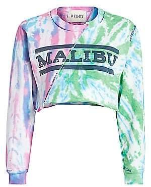 Riley Women's Tie-Dye Split Malibu Sweatshirt