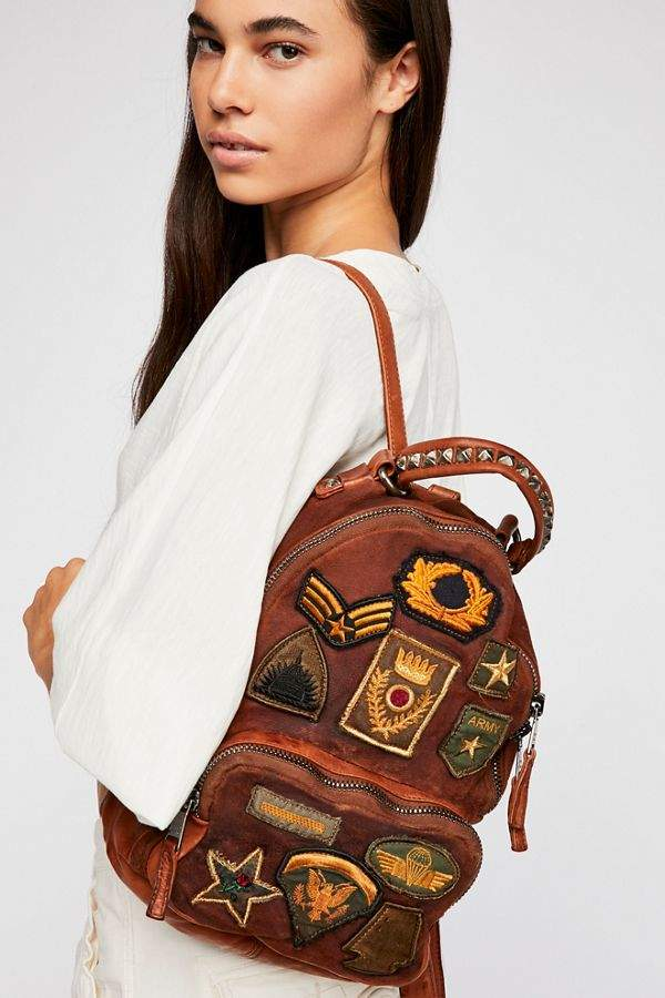 Giorgio Brato Sovana Patched Backpack