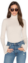 Autumn Cashmere x REVOLVE Ribbed Turtleneck Bell Sleeve Sweater