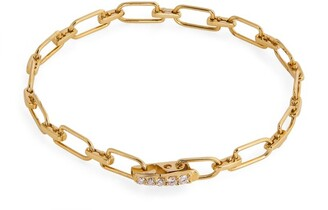 EÉRA Yellow Gold and Diamond Reine Bracelet
