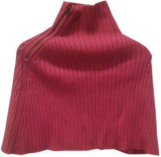 Scaglione Pink Cashmere Knitwear for Women