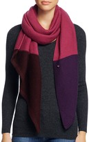 UGG Textured Oversized Color Block Wrap Scarf