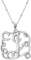 Steel by Design Initial Pendant