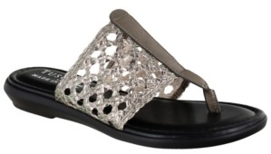 Easy Street Shoes Tuscany by Carlina Thong Sandals Women's Shoes