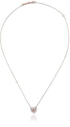 Suzanne Kalan 18kt Rose Gold Heart Diamond Necklace