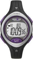 Timex Ironman Road Trainer Womens Heart Rate Monitor Chronograph Watch T5K723F5