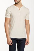 John Varvatos Star USA By Short Sleeve Henley Shirt