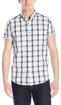 Kenneth Cole Reaction Men's Ss Bdc 1 Pkt Plaid
